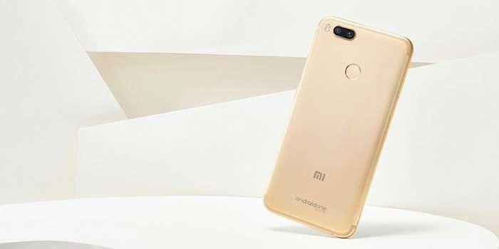 Xiaomi Mi A1 comprar dorado